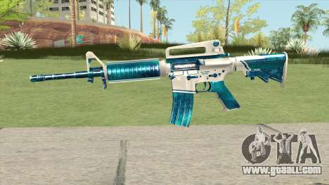 M4A1 (Winter Warrior) for GTA San Andreas