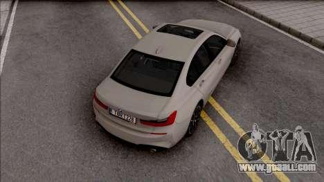 BMW 3-er G20 for GTA San Andreas