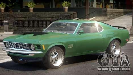 Ford Mustang V1.0 for GTA 4