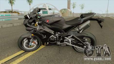 Honda CBR1000RR-R 2020 Black for GTA San Andreas