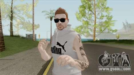 GTA Online Skin Random Male V1 for GTA San Andreas