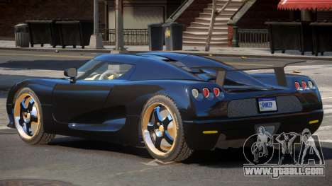 Koenigsegg CCRT ST for GTA 4