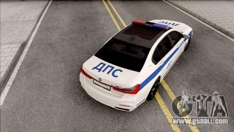 BMW M760Li 2019 DPS for GTA San Andreas