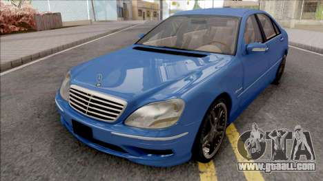 Mercedes-Benz W220 S65 AMG for GTA San Andreas