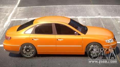 Hyundai Azera V1.0 for GTA 4
