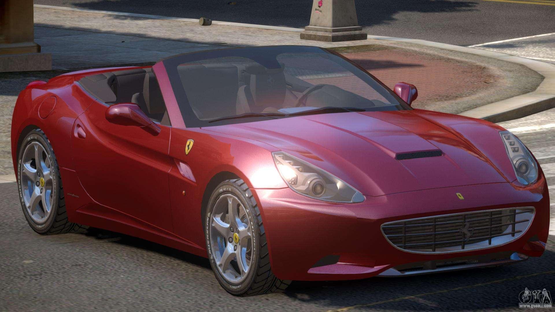 Ferrari California Roadster V1 for GTA 4