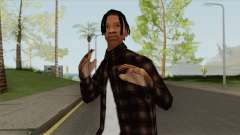 Travis Scott (SA Style) for GTA San Andreas