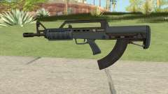 Bullpup Rifle (Base V2) Old Gen Tint GTA V for GTA San Andreas