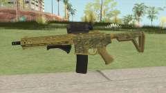 Carbine Rifle GTA V (Camuflaje) for GTA San Andreas