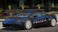 Lambo Gallardo Police