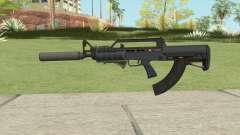 Bullpup Rifle (Three Upgrades V8) Old Gen GTA V for GTA San Andreas