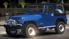 1986 Jeep Wrangler for GTA 4