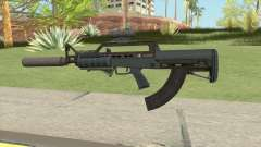 Bullpup Rifle (Complete Upgrade) Old Gen GTA V for GTA San Andreas