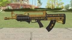 Bullpup Rifle (Two Upgrades V1) Main Tint GTA V for GTA San Andreas