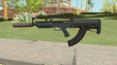 Bullpup Rifle (Silencer) Old Gen Tint GTA V for GTA San Andreas