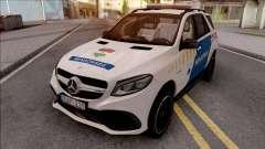 Mercedes-AMG GLE 63S Rendorseg for GTA San Andreas