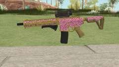 Carbine Rifle GTA V (Zebra Rosa) for GTA San Andreas