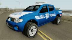 Mitsubishi L200 (De La Policia Federal Mexicana) for GTA San Andreas