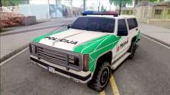 Lietuviska Police Ranger (Nauja) for GTA San Andreas