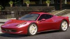 Ferrari 458 Upd for GTA 4