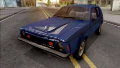 AMC Gremlin X 1973 Blue for GTA San Andreas
