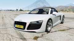 Audi R8 Spyder for GTA 5
