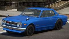 Nissan Skyline 2000 GT V1.0 for GTA 4