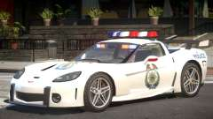 Chevrolet Corvette Police V1.1 for GTA 4