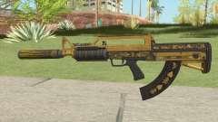 Bullpup Rifle (Two Upgrades V10) Main Tint GTA V for GTA San Andreas