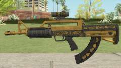 Bullpup Rifle (Scope V2) Main Tint GTA V for GTA San Andreas