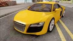 Audi R8 4.2 FSI Quattro VehFuncs for GTA San Andreas