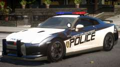 Nissan GTR Police for GTA 4