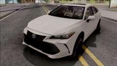 Toyota Avalon Hybrid 2020 White for GTA San Andreas