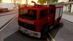 Mercedes-Benz 1222 LF 16-12 Pompierii