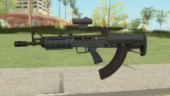 Bullpup Rifle (Scope V2) Old Gen Tint GTA V for GTA San Andreas