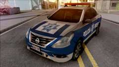 Nissan Versa 2019 Policia Federal Mexicana for GTA San Andreas