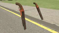 Double Barrel Shotgun GTA V (Orange) for GTA San Andreas