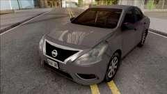 Nissan Almera 2013 SA Style for GTA San Andreas