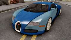 Bugatti Veyron Standart Interior for GTA San Andreas