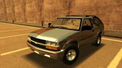 Chevrolet Blazer 2001 V1 for GTA San Andreas