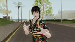 Kasumi Kimono (Retextured) HQ for GTA San Andreas