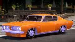 Plymouth Barracuda V1.0 for GTA 4
