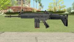 SCAR-H Black (Soldier Front 2) for GTA San Andreas