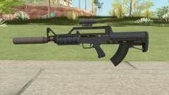 Bullpup Rifle (Two Upgrades V9) Old Gen GTA V for GTA San Andreas