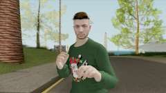 Male Skin (New Year) GTA V Online for GTA San Andreas