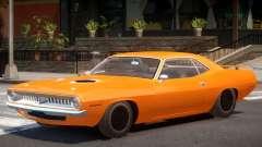 1970 Plymouth Barracuda for GTA 4