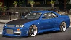 Nissan Skyline R34 Drift for GTA 4