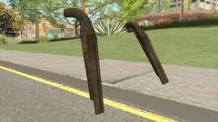 Double Barrel Shotgun GTA V (Army) for GTA San Andreas