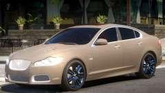 Jaguar XFR V1.2 for GTA 4