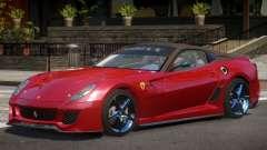 Ferrari 599XX Y12 for GTA 4